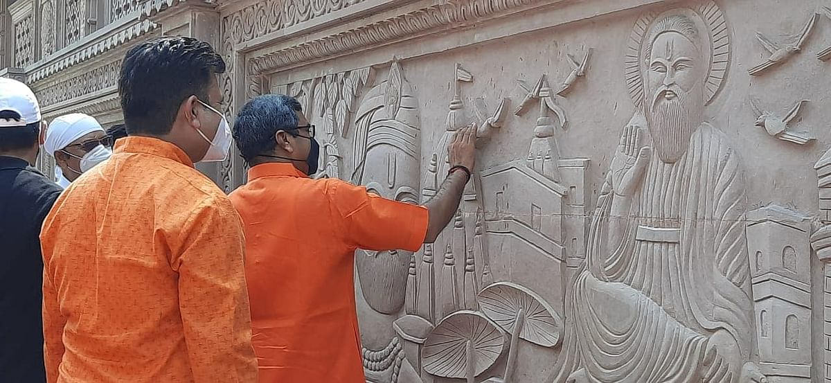 सुबह-ए-बनारस के वास्तु संकल्प का राज्यमंत्री नीलकंठ ने किया शिवार्पण