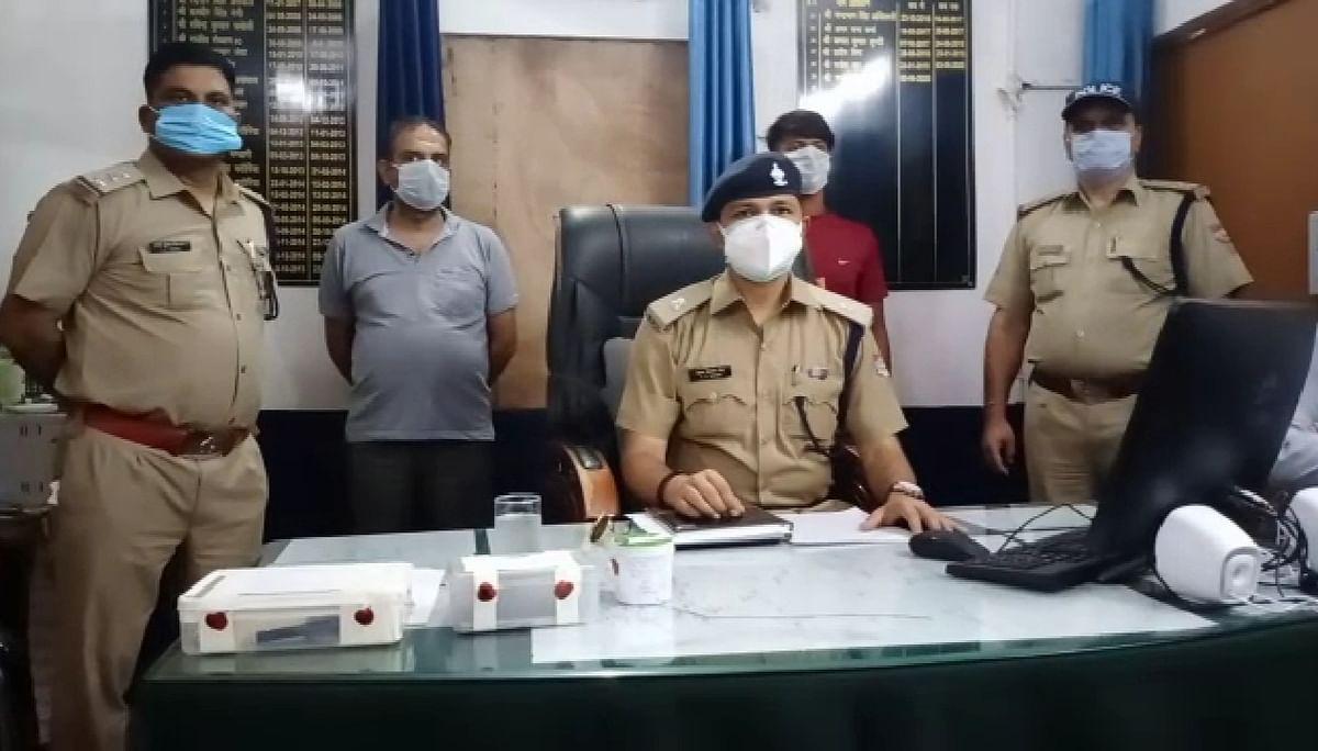 गैस गोदाम फायरिंग में दो बदमाश गिरफ्तार