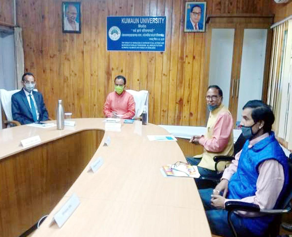 कुमाऊं व अल्मोड़ा विश्वविद्यालय के लिए प्रोफेसरों से मांगे जाएंगे विकल्प: डा. रावत