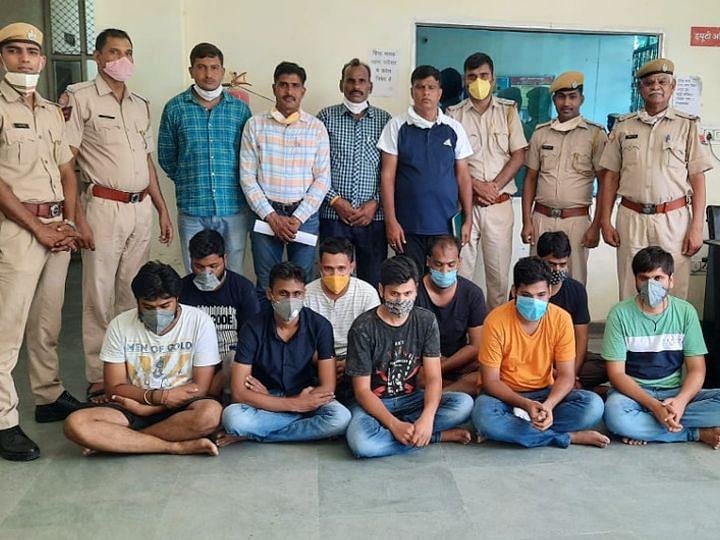 70 करोड़ रुपये का क्रिकेट सट्टा पकड़ा, नौ नामी गुजराती सटोरिये गिरफ्तार