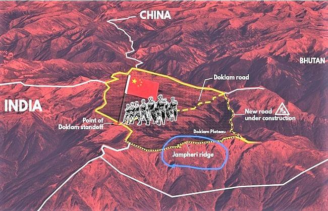 चीन ने अब डोकलाम और भूटान का किया रुख