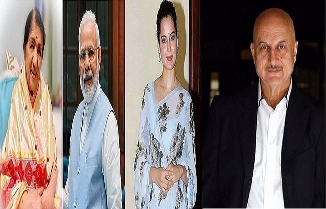 बॉलीवुड हस्तियों ने दी प्रधानमंत्री नरेंद्र मोदी को 70वें जन्मदिन की बधाई