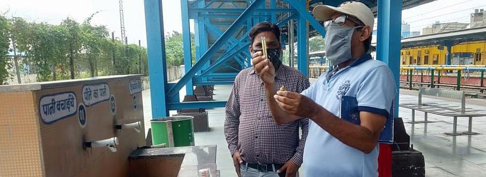 पश्चिम रेलवे ने स्वच्छता पखवाड़े के तहत नीर दिवस मनाया
