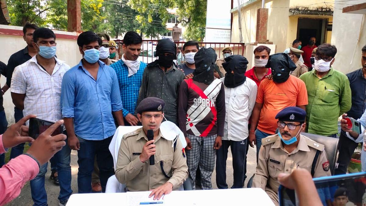 12 घंटे के भीतर पांच अपहरणकर्ता गिरफ्तार,  बालक सकुशल बरामद