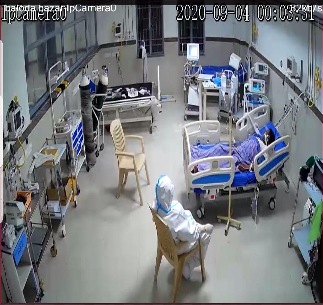 गंभीर मरीजों के लिए वरदान साबित हो रहा बलौदाबाजार का कोविड-19 अस्पताल