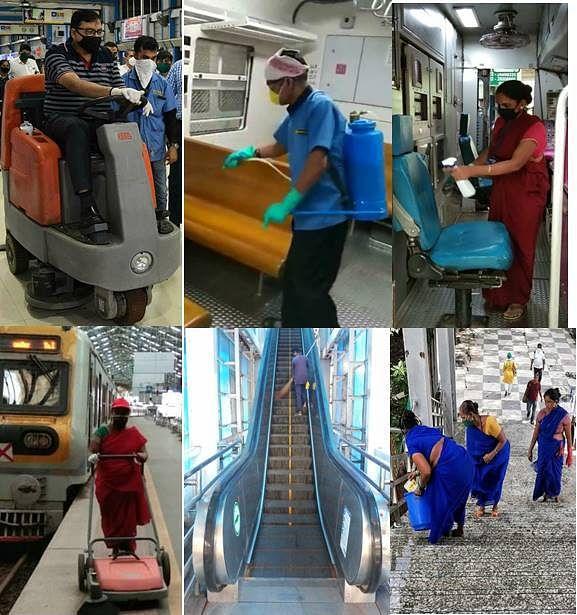 पश्चिम रेलवे के सभी मंडलों पर स्वच्छता पखवाड़े का आयोजन