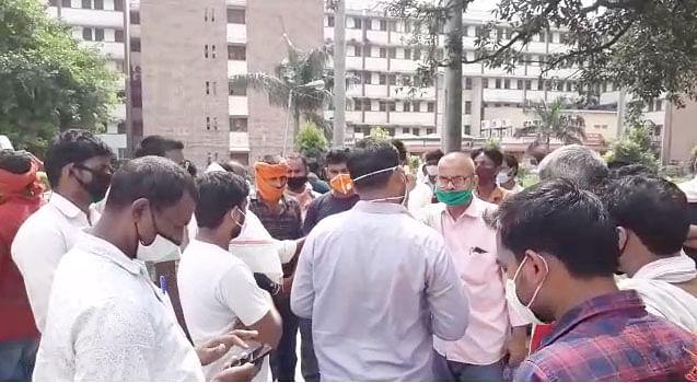 वाराणसी : जिस गायब कोविड मरीज को लेकर बीएचयू में हुआ हंगामा, वह मिला रिश्तेदारी में