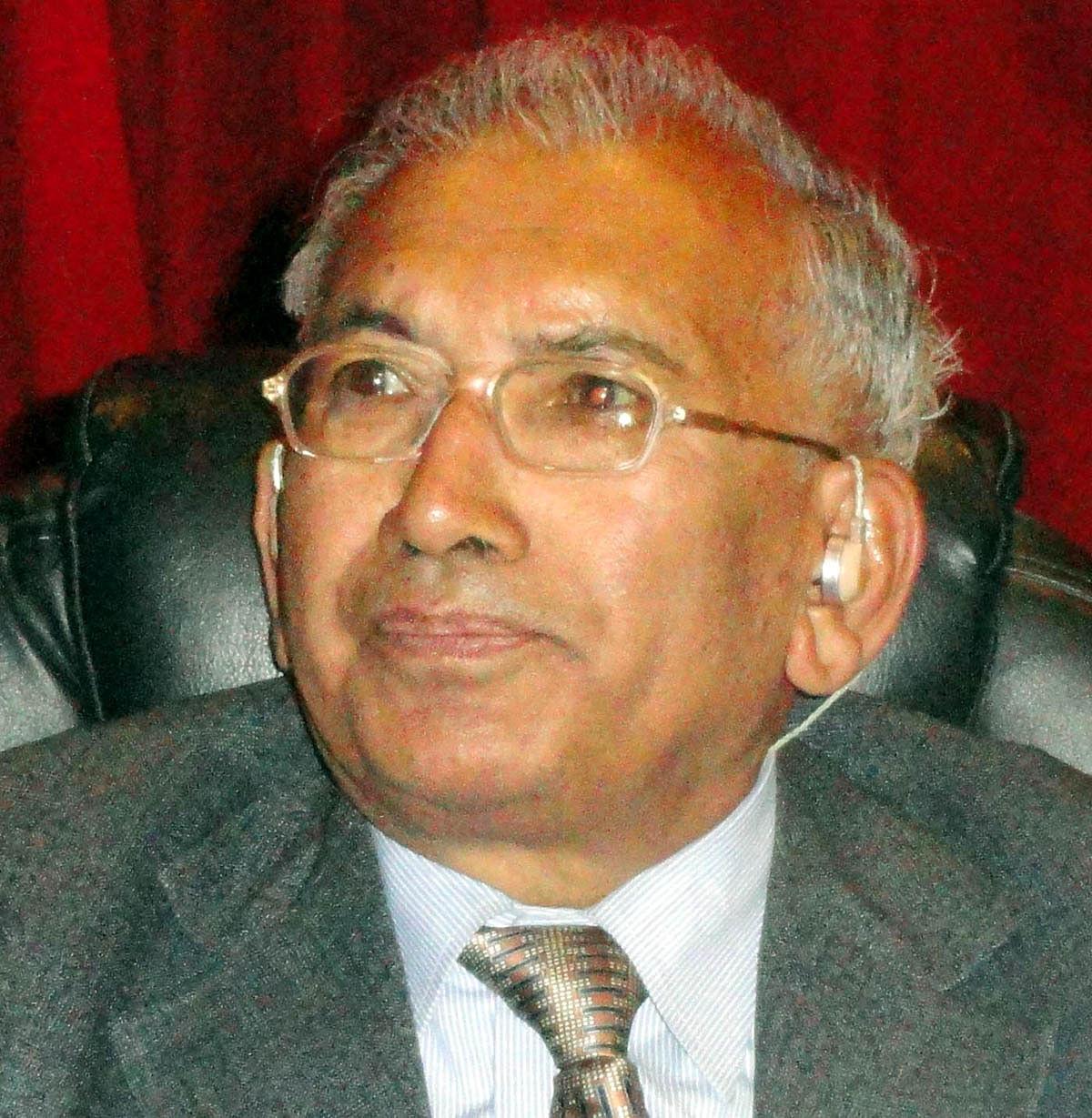 देश के प्रख्यात भूगर्भ शास्त्री पद्मभूषण प्रो. खड्ग सिंह वल्दिया का निधन