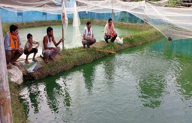 छत्तीसगढ़ में मछली पालन को कृषि का दर्जा, भूपेश सरकार का सराहनीय फैसला