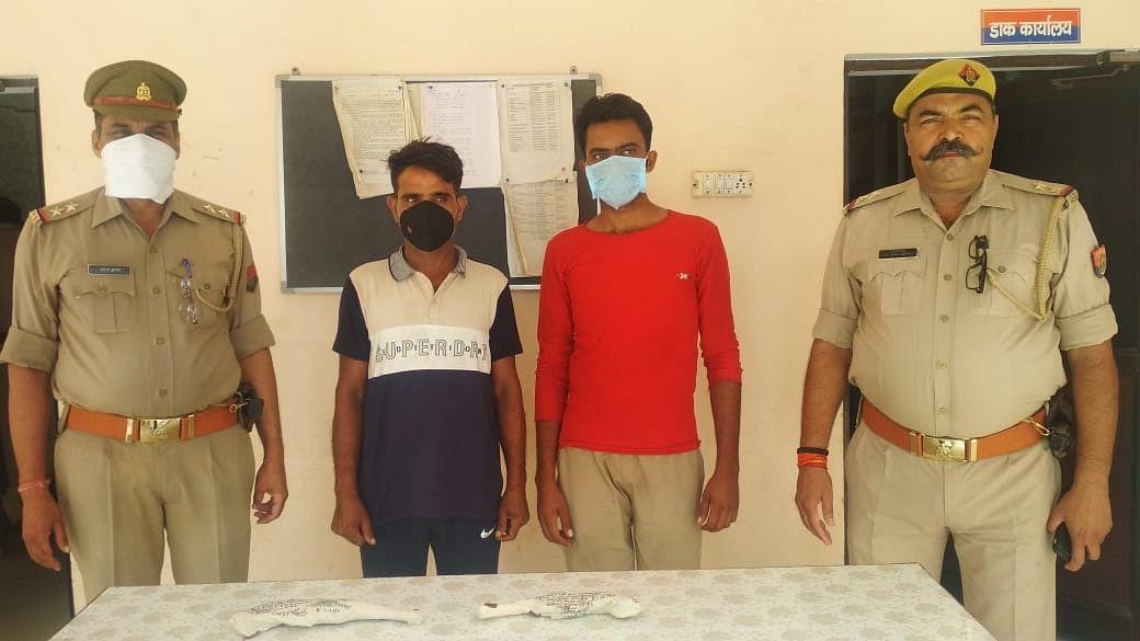 25 हजारी बदमाश गिरफ्तार, किसान सुरेशपाल हत्याकांड का राजफाश
