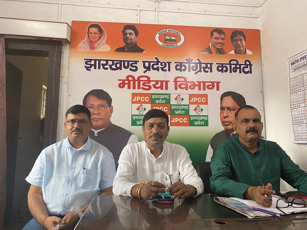 सत्ता में रहकर करोड़ों रुपये का गोलमाल करने वाले भाजपा नेताओं की खुमारी अब भी नहीं टूटी है : कांग्रेस