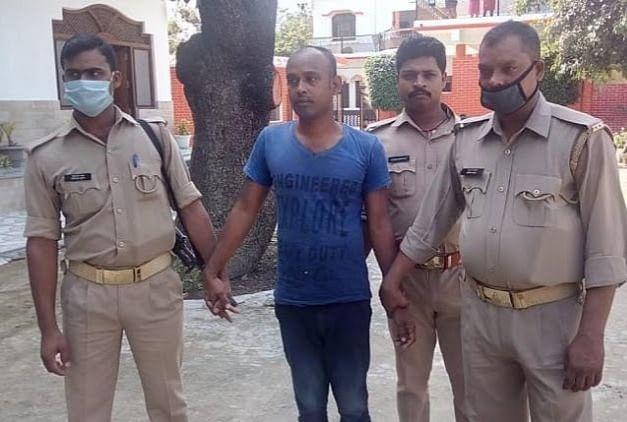 सांसद पुत्र के नाम पर पैसा वसूलने वाला गिरफ्तार, जेल