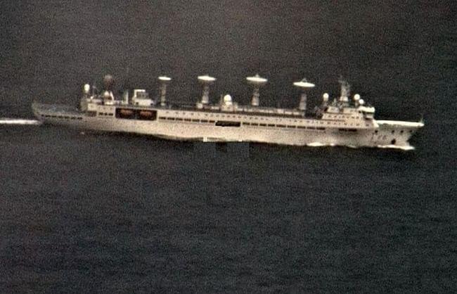 अब चीन ने की समंदर में घुसपैठ, नौसेना ने खदेड़ा