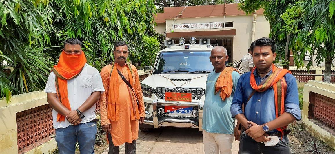 पीड़ित दलित परिवार को न्याय दिलाने के लिए जारी है बजरंग दल का आंदोलन