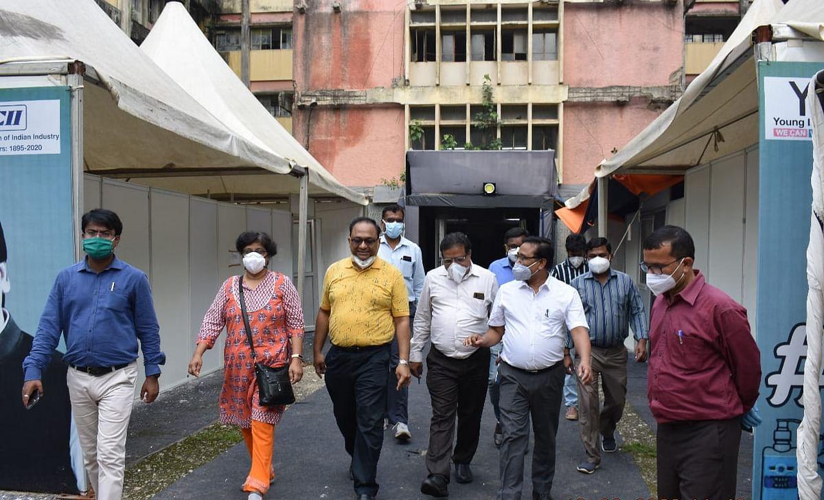 दिल्ली से आई केंद्रीय टीम ने विभिन्न कोविड-19 अस्पतालों का  किया निरीक्षण