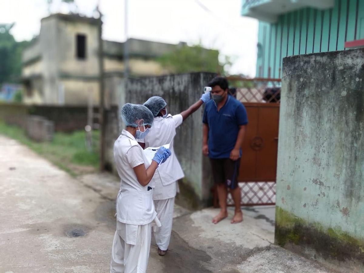 कोरोना संक्रमण के रोकथाम के लिए हाउस टू हाउस सर्वे, 7906 लोगों की हुई मेडिकल स्क्रीनिंग