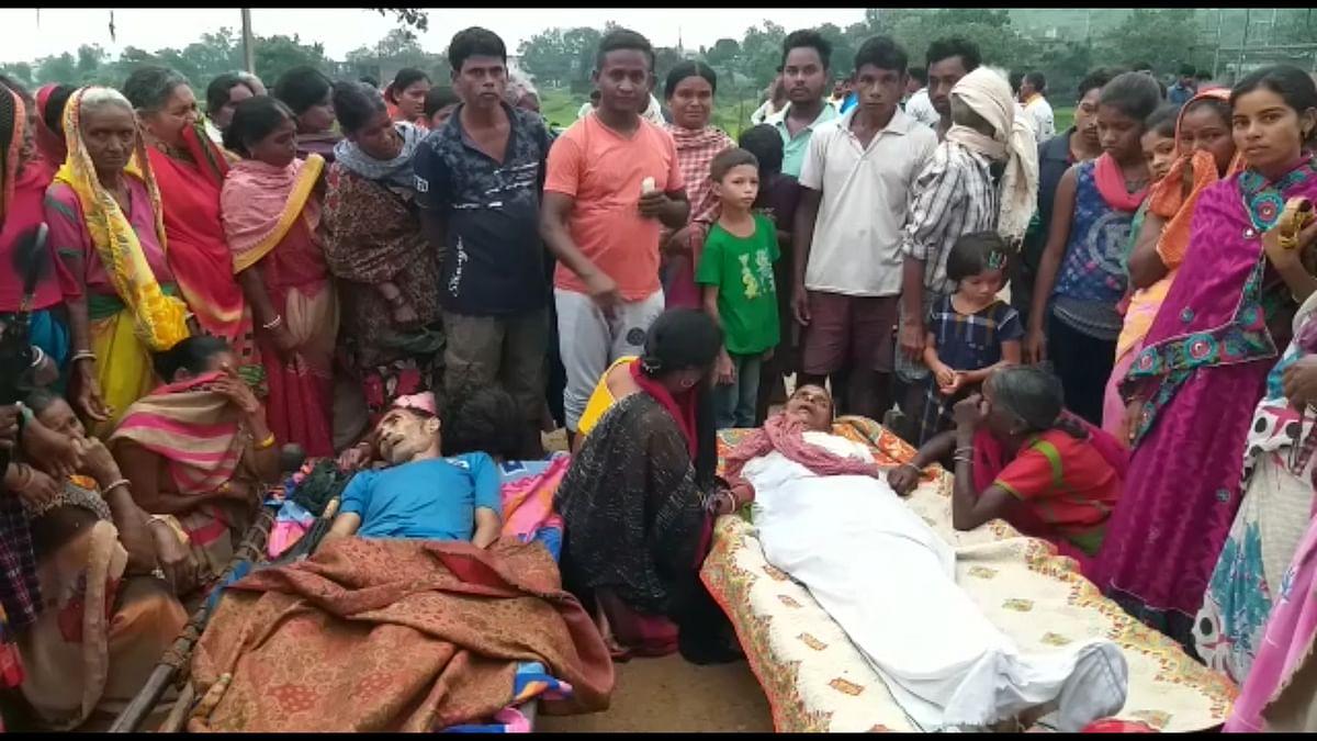 वज्रपात से 2 ग्रामीणों की मौत