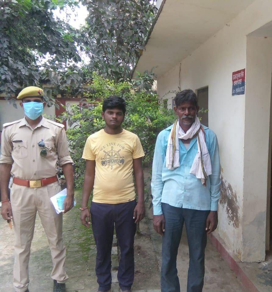 गैर इरादतन हत्या के दो आरोपित गिरफ्तार