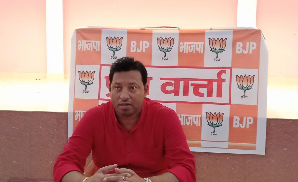 सबका साथ, विकास और विश्वास पर काम कर रही है एनडीए सरकार : नवीन कुमार