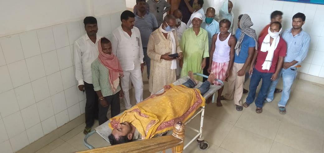 देवघर के मोहनपुर थाना के शंकर यादव की  करंट लगने से हुई मौत