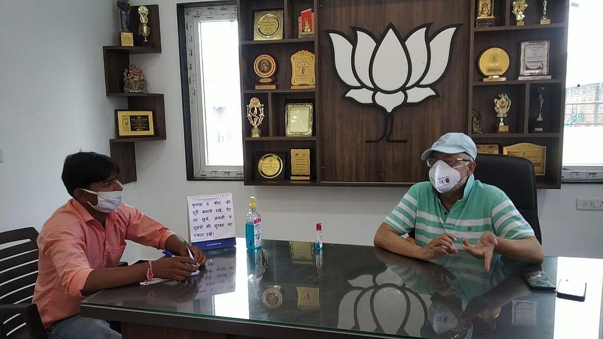 योगी सरकार में सबसे बेहतर चिकित्सीय सेवाएं : राम प्रताप सिंह