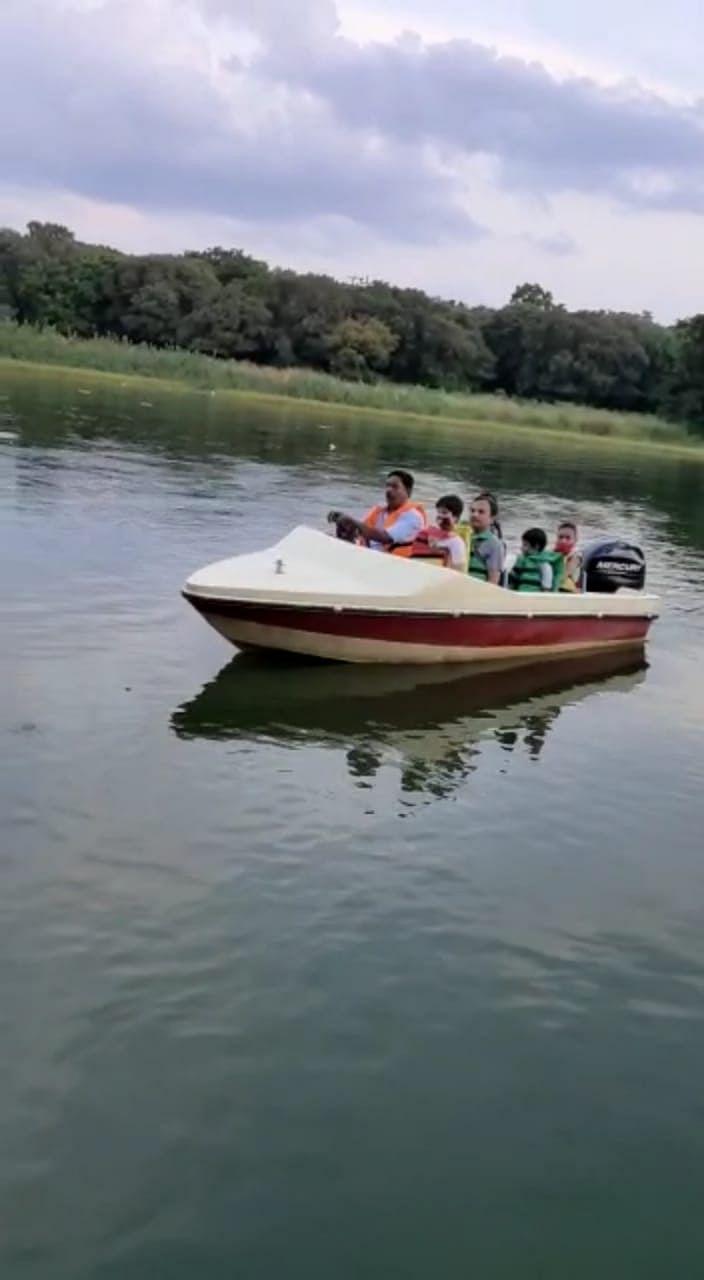 शिवपुरीः सांख्य सागर झील में नौकायन शुरू हुआ