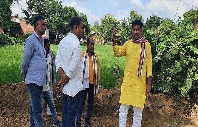 विकास कार्यों की बदौलत प्रदेश के नक्शे पर रंग बिखेरेगी हरैया विधानसभा: अजय सिंह