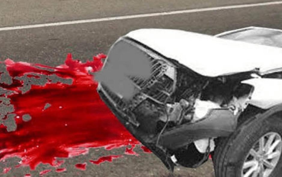 पिता को खाना देकर लौट रहे युवक की हादसे में मौत, आक्रोशित लोगों ने सड़क किया जाम