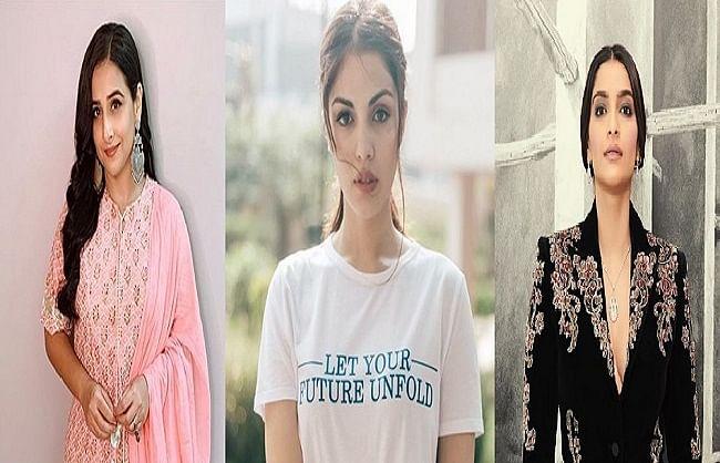 रिया चक्रवर्ती के समर्थन में आया बॉलीवुड, सोशल मीडिया पर हो रही इन्साफ की मांग