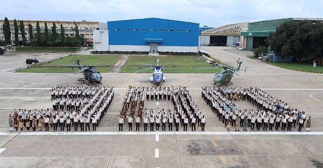 एचएएल ने बनाया 300वां एडवांस्ड लाइट हेलीकॉप्टर ध्रुव