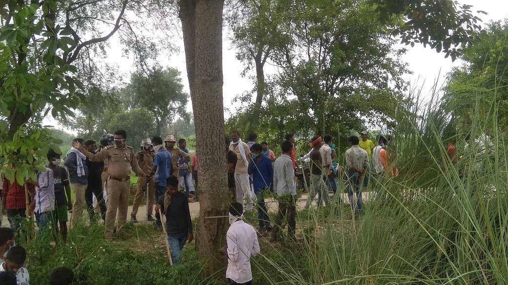 जौनपुर : अराजकतत्वों ने तोड़ी डॉ. आंबेडकर की मूर्ति, एक गिरफ्तार
