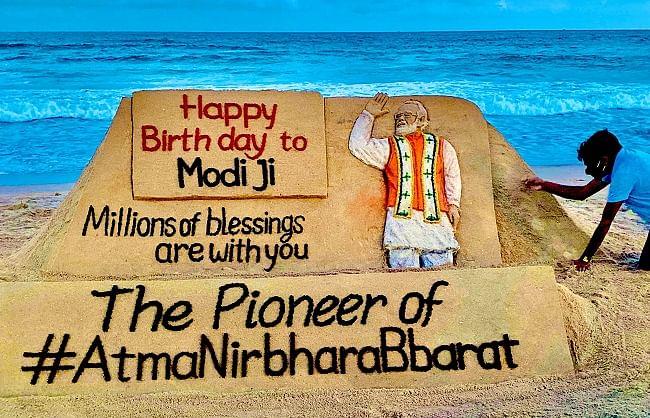 पीएम मोदी को जन्मदिन पर देश-विदेश से बधाइयों का तांता