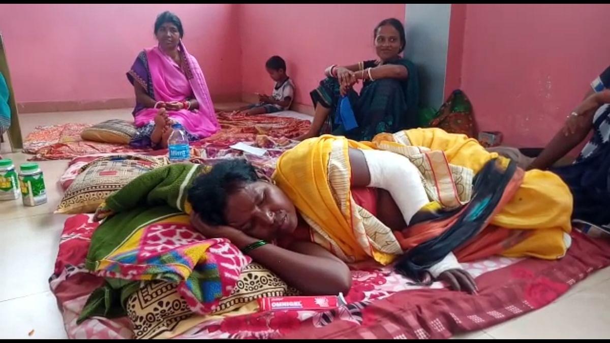 पीवीयूएनएल के विस्थापित ग्रामीणों ने आत्मदाह की दी धमकी, 6 दिनों से जारी है अनशन