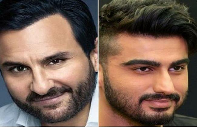 हॉरर-कॉमेडी फिल्म 'भूत-पुलिस' में पहली बार साथ काम करेंगे अर्जुन कपूर-सैफ अली खान