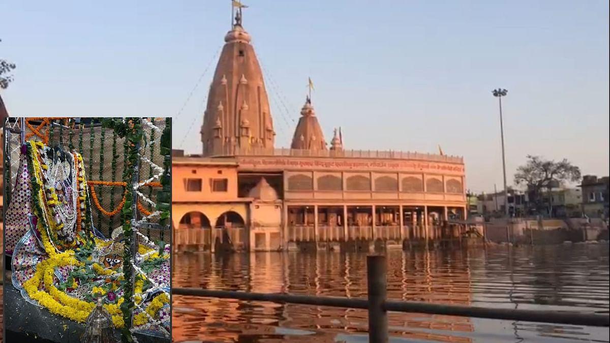 गोवर्धन : दसविसा के मुकुट मुखारविंद मंदिर में गबन के आरोपों को मंदिर रिसीवर ने बताया निराधार