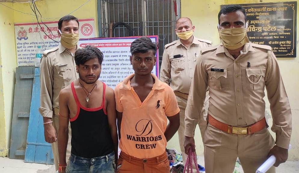 झगड़े के दौरान फायरिंग करने वाले दो भाई पहुंचे जेल