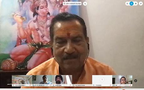 बलोच संगठन एकजुट होकर चलाएं पाकिस्तान से मुक्ति का आंदोलन: इंद्रेश कुमार