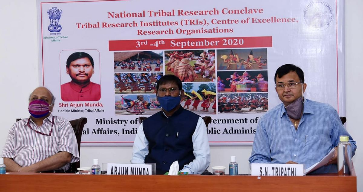 जनजातीय मामलों का मंत्रालय अनुसंधान के लिए 26 जनजातीय अनुसंधान संस्थानों को वित्तपोषित कर रहा है: अर्जुन मुंडा