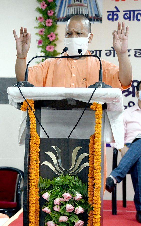 मुख्यमंत्री योगी ने केजीएमयू में किया 320 बेड के लेवल-3 कोविड अस्पताल का लोकार्पण
