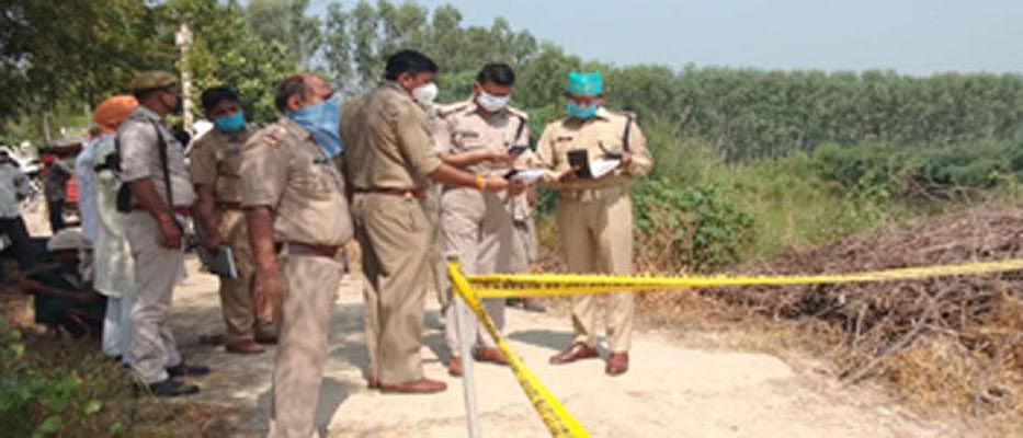 मथुरा : पुलिसकर्मी के वृद्ध भाई का शव रक्त-रंजित अवस्था में मिला