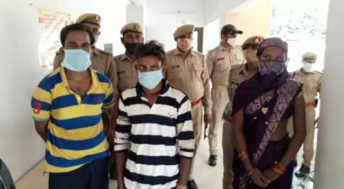 पुलिस ने वृद्ध अपहृत को सकुशल किया बरामद, तीन अपहरणकर्ता गिरफ्तार