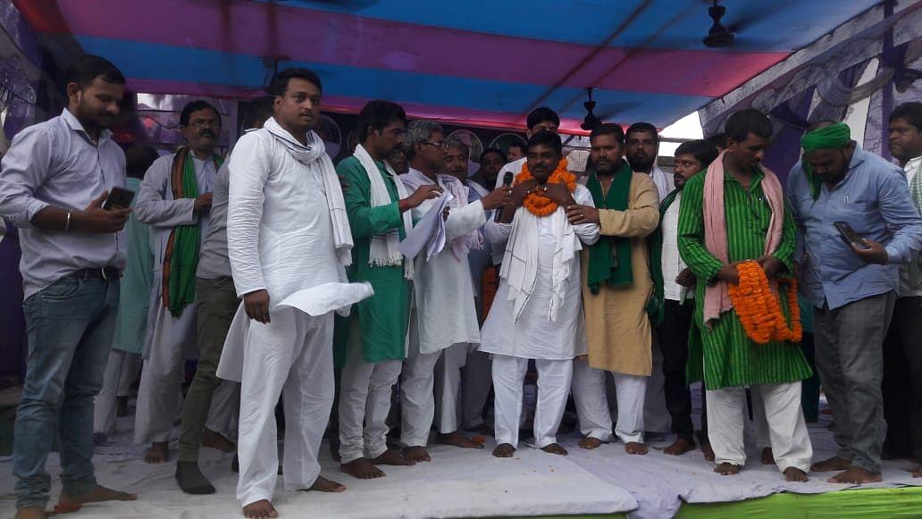 बेगूसराय में कार्यकर्ता सम्मेलन के दौरान राजद ने दिया जदयू को झटका