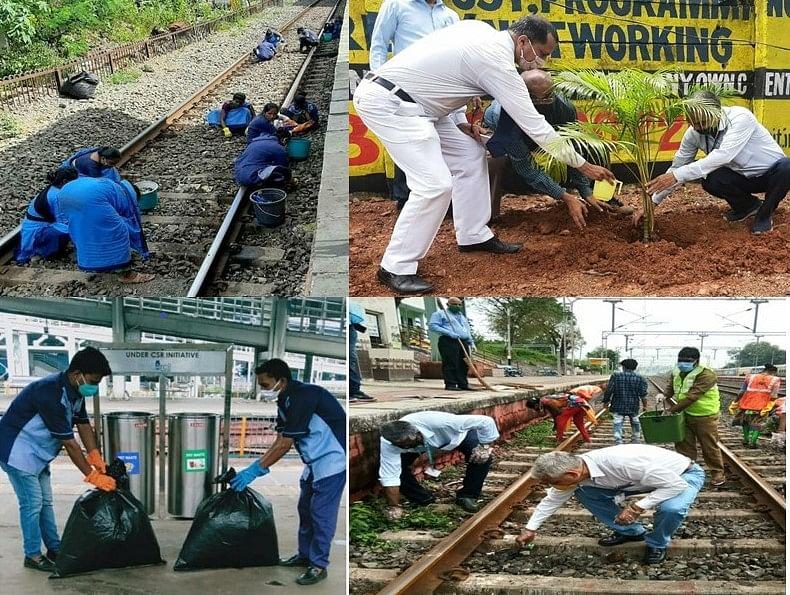 पश्चिम रेलवे पर स्वच्छ्ता पखवाड़े के अंतर्गत स्वच्छता संबंधी विभिन्न आयोजन