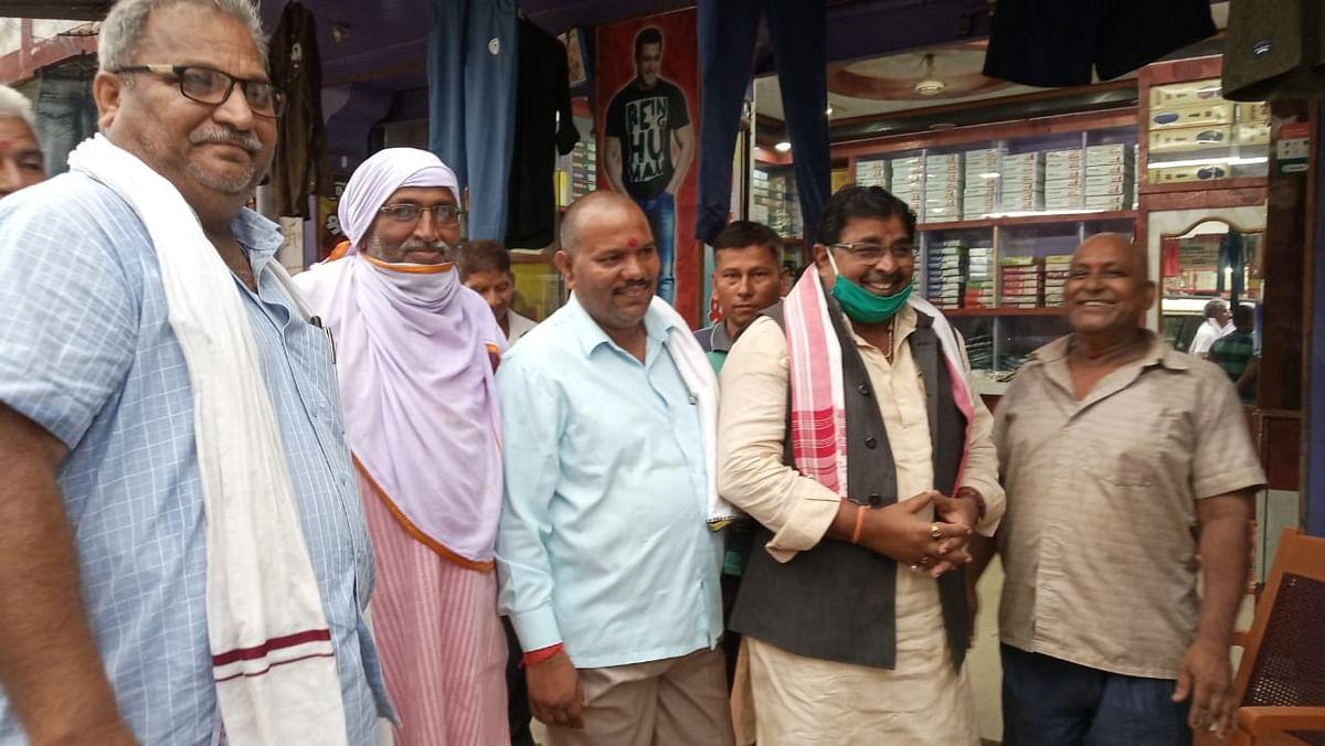 भाजपा के पूर्व प्रदेश अध्यक्ष पहुंचे कोडरमा