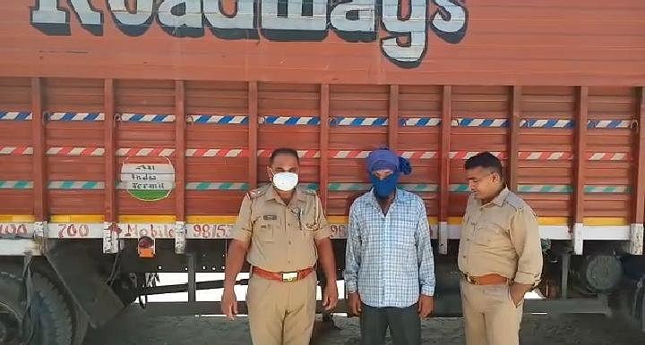 दवाइयों के बीच छिपाकर बिहार ले जाई जा रही 30 लाख की अंग्रेजी शराब बरामद, चालक गिरफ्तार