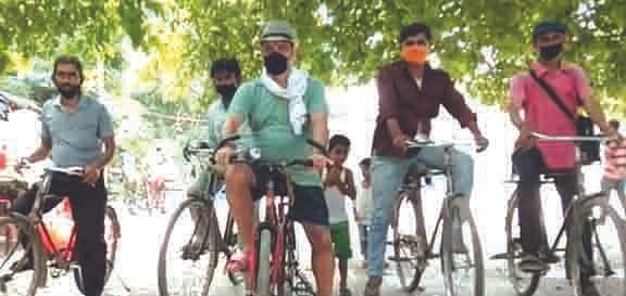 ग्रीन बाइसाइकिल सेवा शुरू करने की मांग