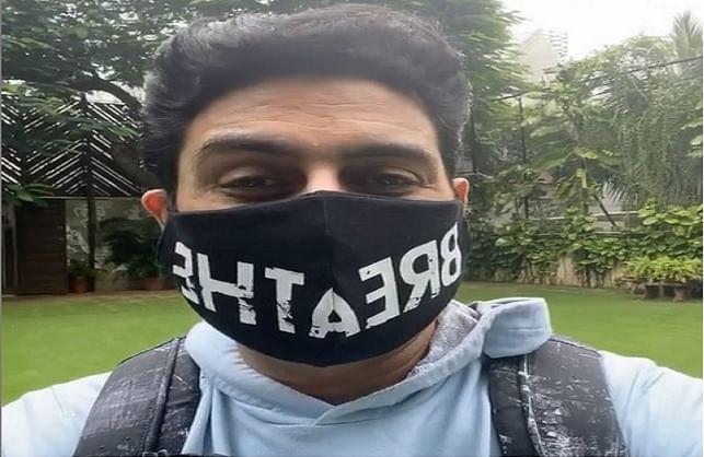 अभिषेक बच्चन ने सभी से मास्क पहनने का किया आग्रह, बोले-इस वायरस को हल्के में ना लें