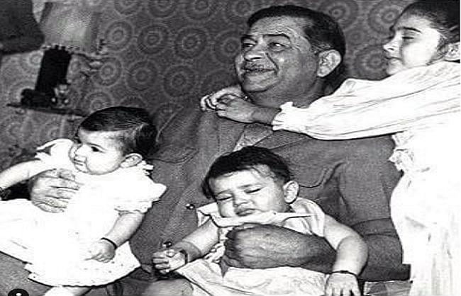 रिद्धिमा के जन्मदिन पर करीना और करिश्मा कपूर ने शेयर की दादा राज कपूर संग थ्रोबैक तस्वीर