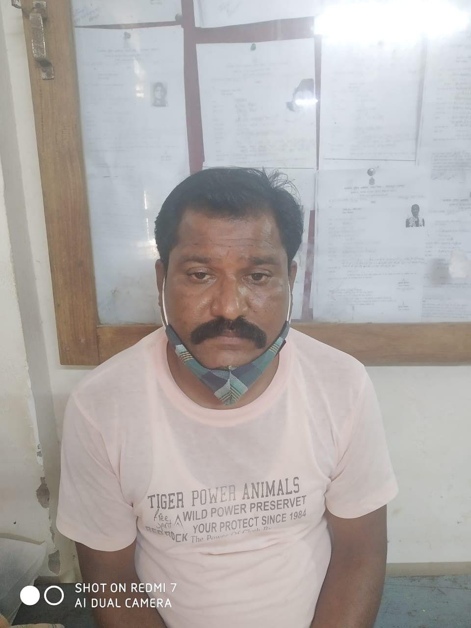 नाबालिग बच्ची से छेड़छाड़ का आरोपी गिरफ्तार