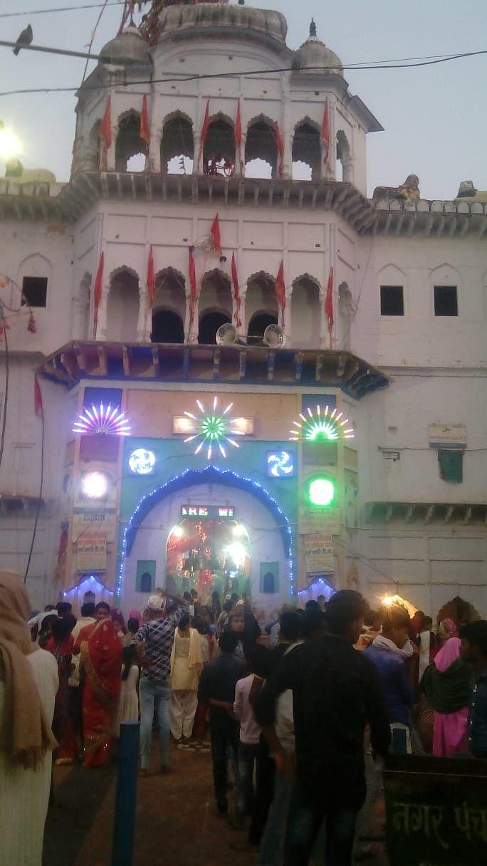 कालका देवी मंदिर हिन्दू मुस्लिम एकता के प्रतीक के रूप में है विख्यात